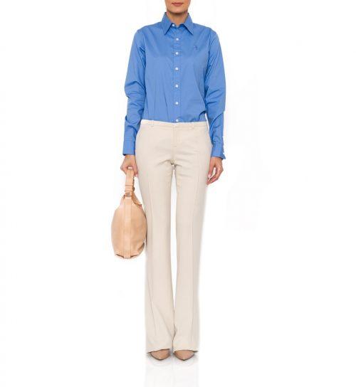 Pantaloni Gucci crem drepti