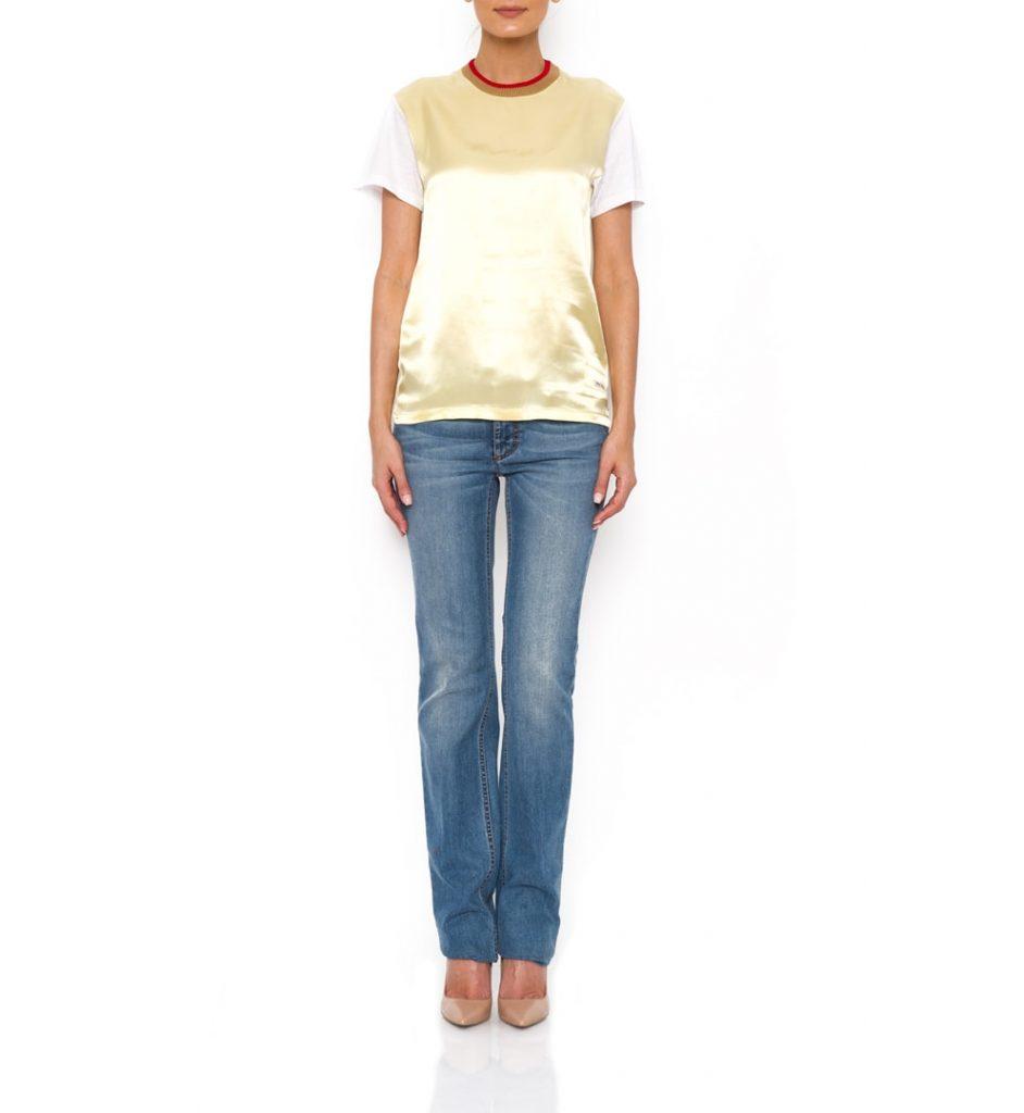 Jeans Dolce&Gabbana cu croiala dreapta