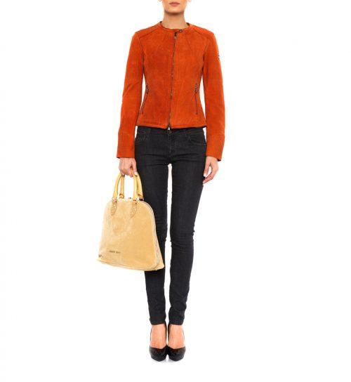 Geaca Armani Jeans portocalie