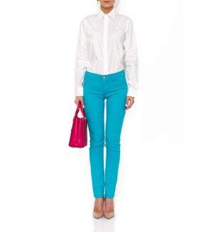 Armani Jeans de culoare turcoaz