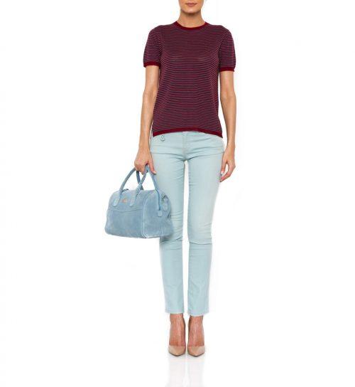 Jeans de culoare light blue