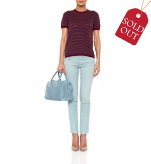Jeans de culoare light blue