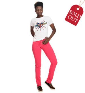 Armani Jeans de culoare corai