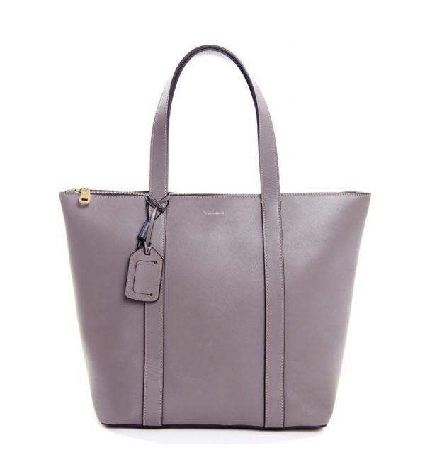 Shopping bag gri Dolce&Gabbana