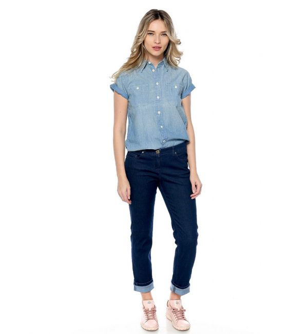 Ralph-Lauren-camasa-clasica-light-blue-din-denim-the-dresser-dreser