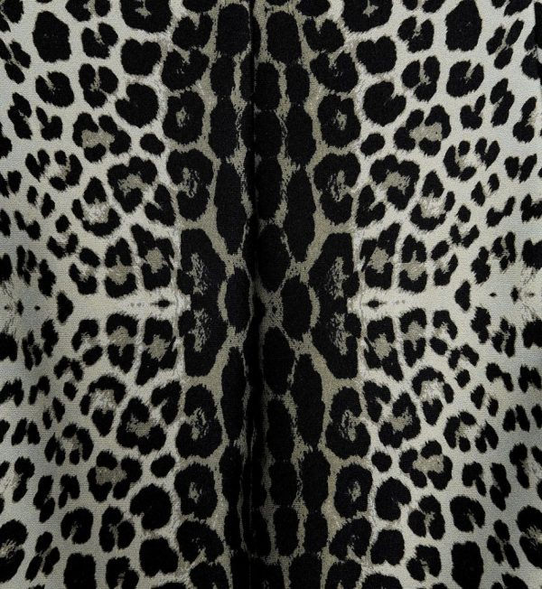 Fusta conica cu imprimeu animal print
