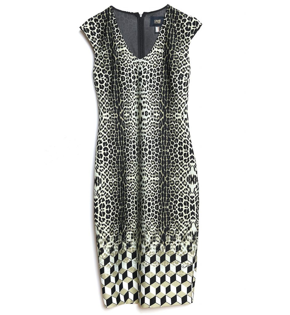 6f7f21d27d Black animal print dress Class Roberto Cavalli - The Dresser
