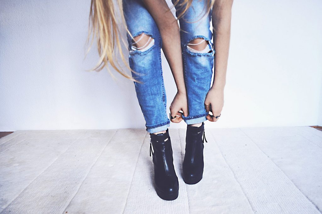 5 greseli de evitat atunci cand porti skinny jeans