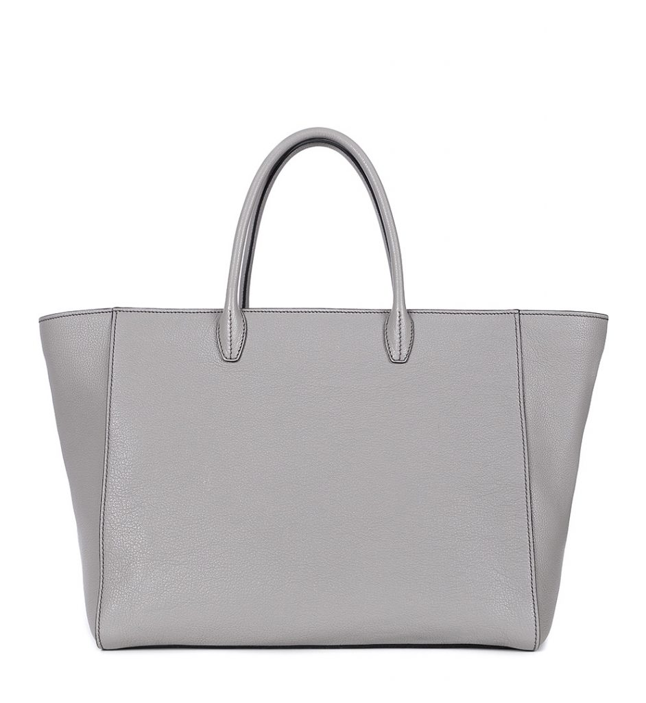 Shopper bag piele gri