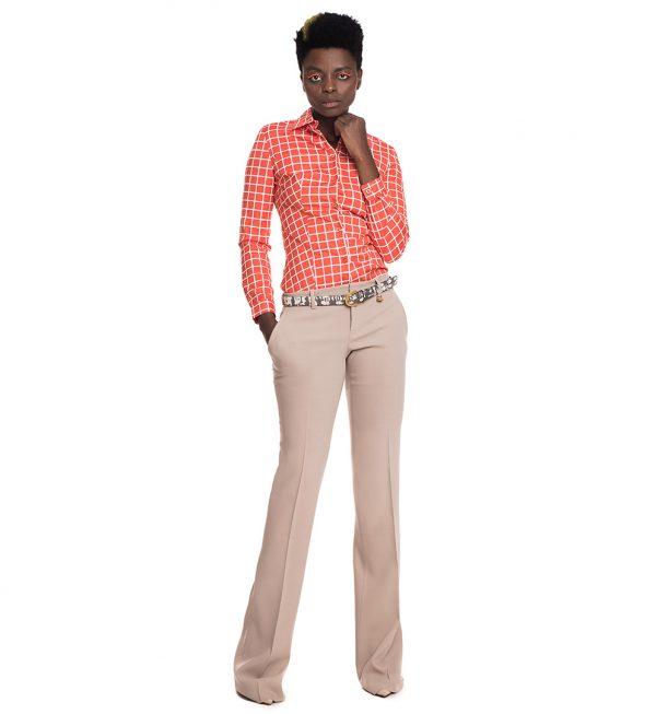 Pantaloni Gucci bej drepti