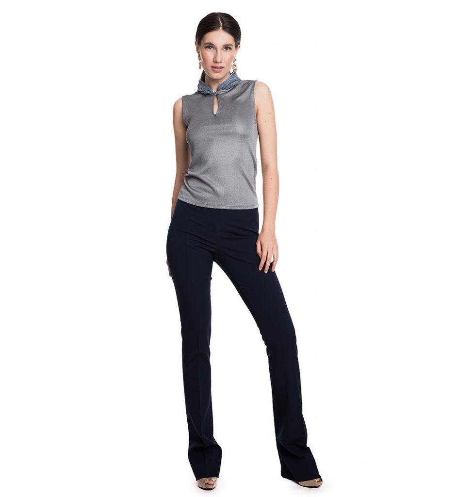 Pantaloni Gucci bleumarin