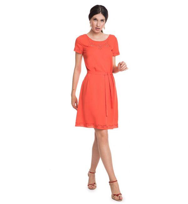 Rochie Armani Jeans portocalie